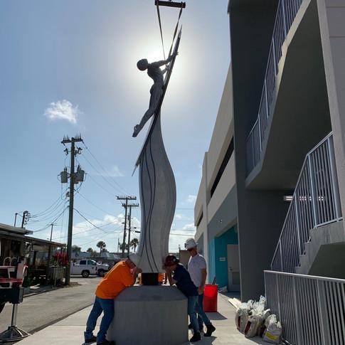 Cocoa Beach Sculpture