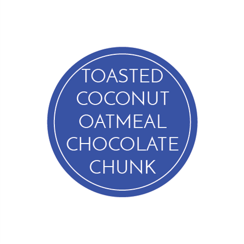 Toasted Coconut Oatmeal Chocolate Chunk Cookies