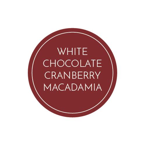 White Chocolate Cranberry Macadamia Bread
