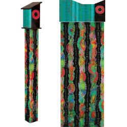 Color Dance 5' Birdhouse Art PoleItem #-