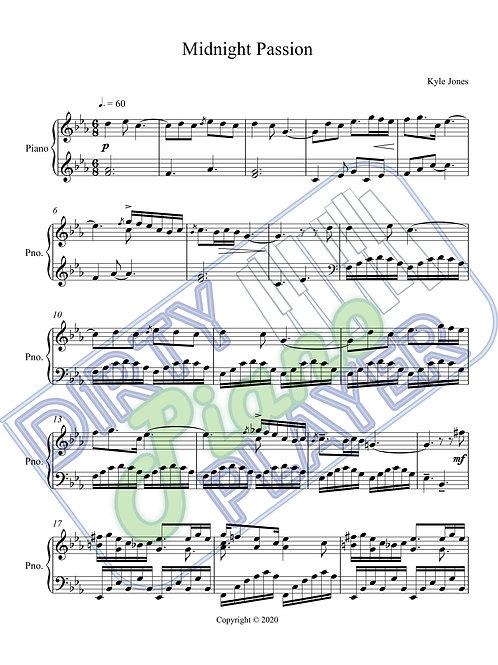 Midnight Passion - Full Score