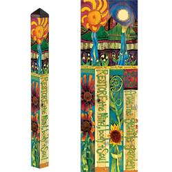 Healing Garden 4' Art Pole PP252