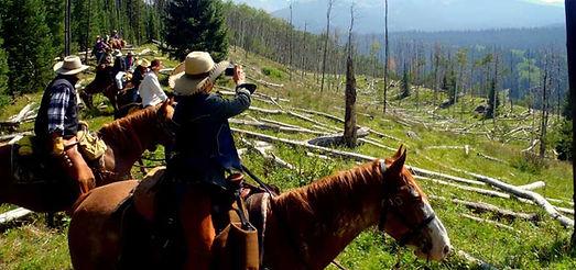 Vail to Aspen Horseback Rides
