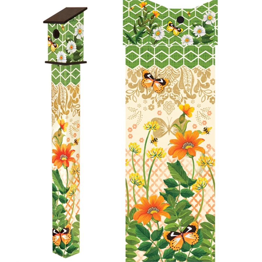 Fancy Garden 5' Birdhouse Art PoleItem #