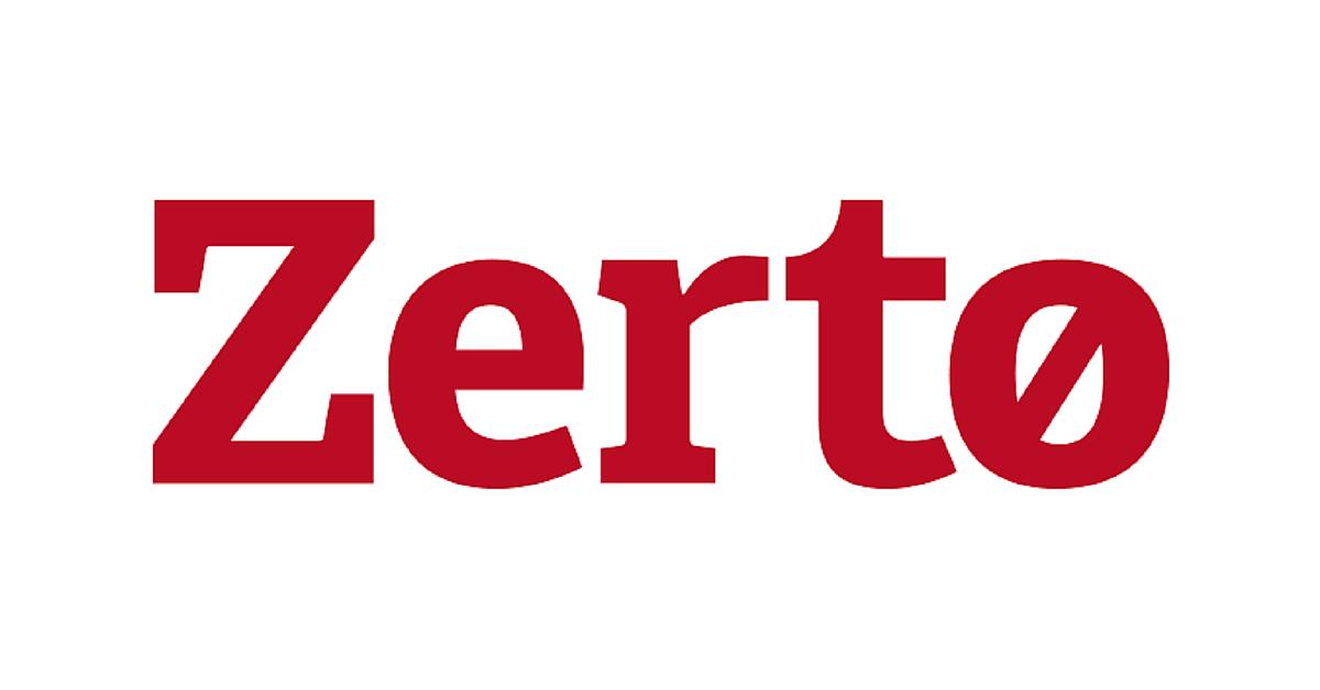 ZERTO לוגו