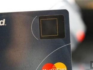 כרטיסי אשראי עם טביעת אצבעות