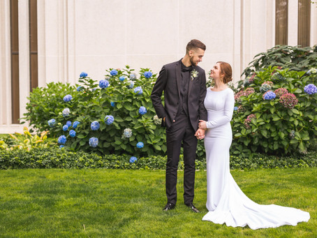 Tabitha + Hunter | Seattle LDS Temple Wedding & Hansen Place Reception
