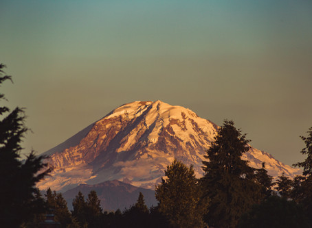 Mt. Rainier Views from Kent, WA | Landscape Photography