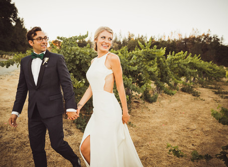 Jordyn + Jordan | Hans Fahden Winery Wedding in Calistoga, CA