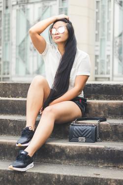 Kirstie Chan Casual Look Blogger Photos-10