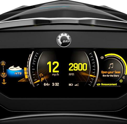 RXP X RS 300 Colour dash