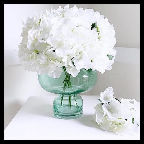 White Hortensia Arrangement