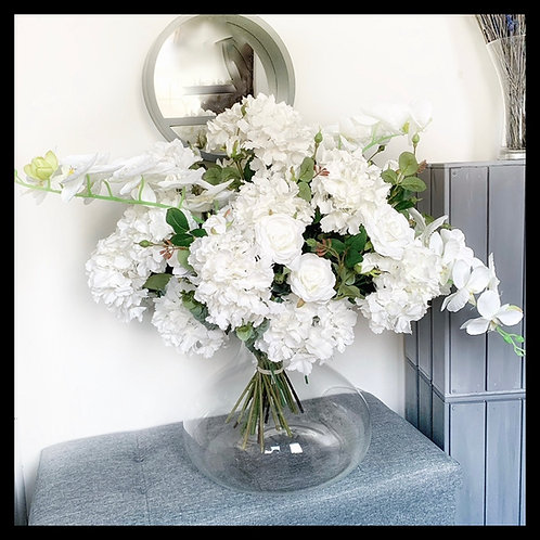 Hydrangeas Roses & Orchids