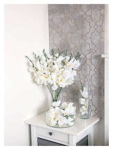 Gladiolus - Set of three - Faux Flowers