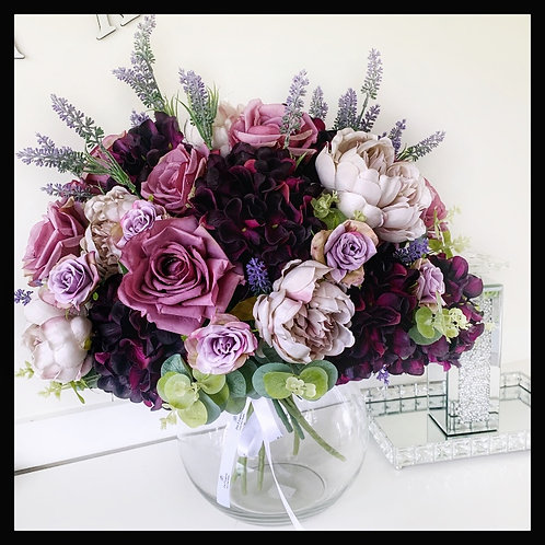 Rose, Peony & Lavender Medley