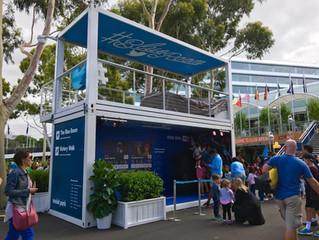 Agcab features at Australia Open 2017