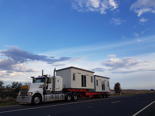 Agcab Delivery Truck delivers portables