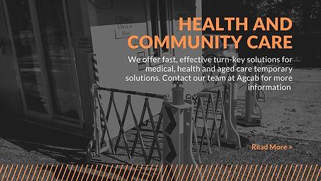 Health and community care agcab portable