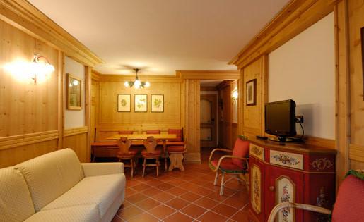 Dafni - salotto e soggiorno