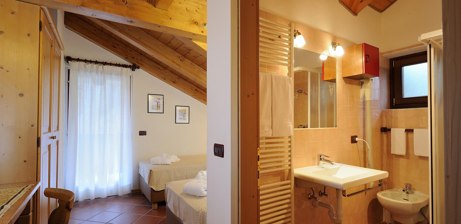Morfeo - Camera a 2 letti e bagno