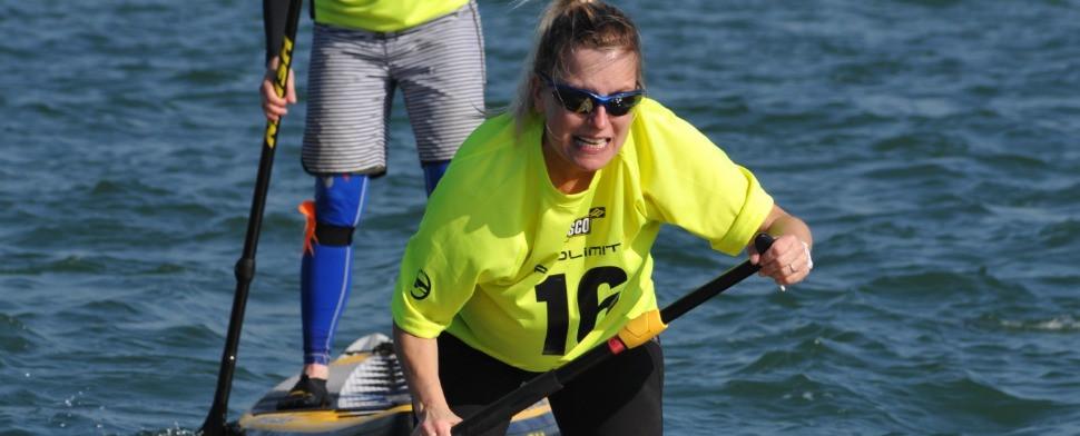 Karina Ludtke finishing