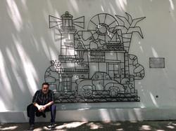 Colonia de Sacramento - Mural 3D