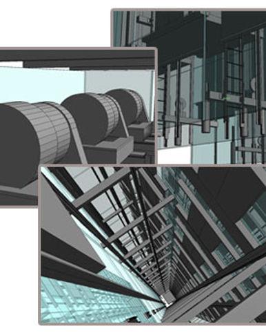 Elevator Design BIM Mode