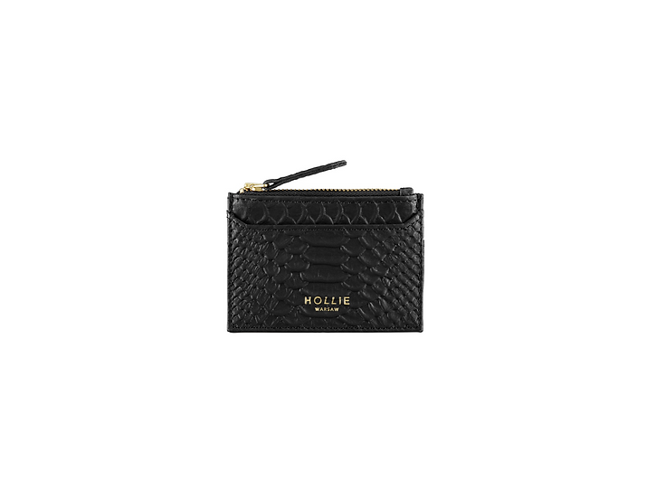 CARD HOLDER embossed leather
