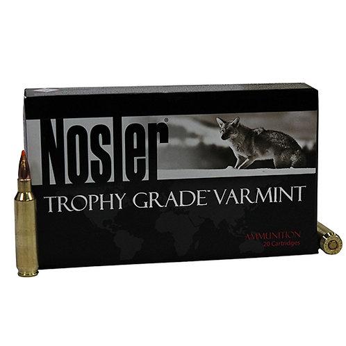 Nosler 22 Trophy Grade, 55gr, Ballistic Tip Varmint Spitzer, Per 20