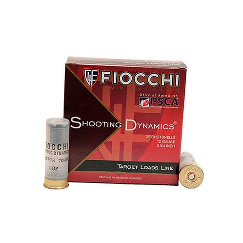 "Fiocchi 12SD1L8 Shooting Dynamics Target 12 Gauge 2.75"" 1 oz 8 Shot 25/Box"