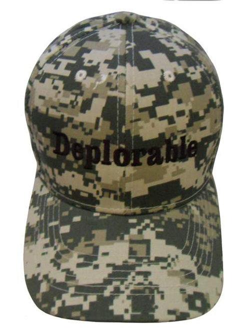 Deplorable Cap - Digital Camo
