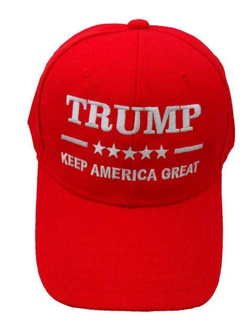 Trump Keep America Great Cap - Red