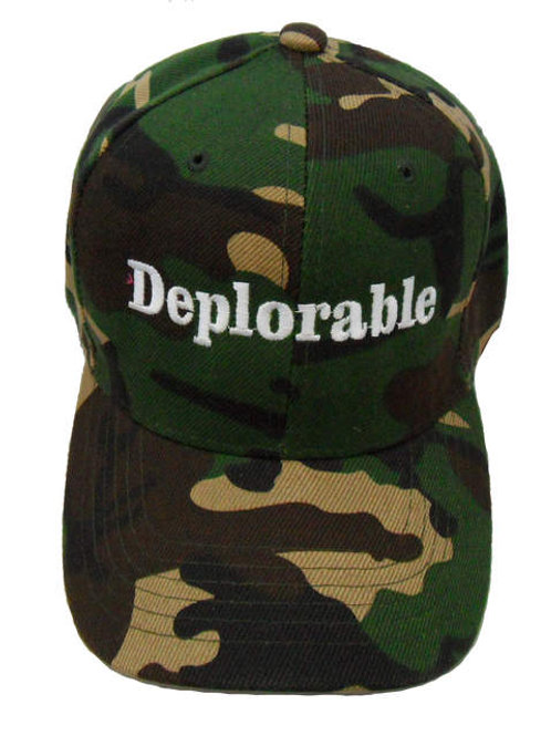 Deplorable Cap - Green Camo