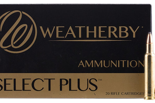 Weatherby N240100PT Select Plus 240 Wthby Mag 100 gr Nosler Partition NP 20/Box