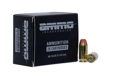 Ammo Inc Jesse James Black Label 45 ACP 230 gr Jacketed Hollow Point 20/Box
