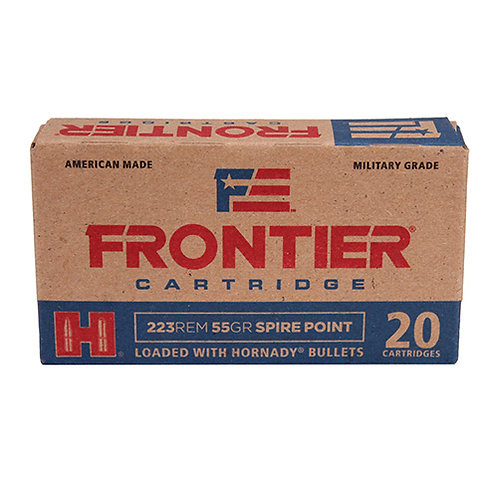 Frontier Cartridge FR120 Rifle 223 Rem 55 gr Spire Point (SP) 20/Box
