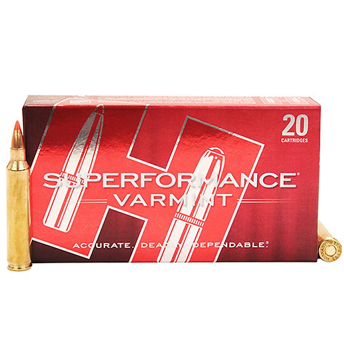 Hornady 83204 Superformance Varmint 204 Ruger 32 gr V-Max 20/Box