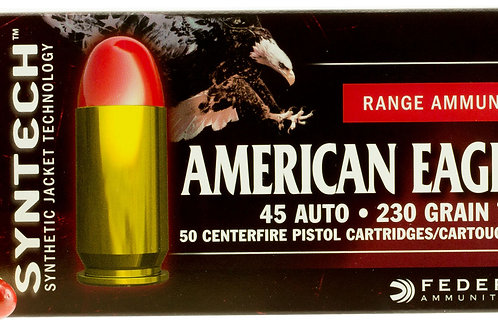 Federal American Eagle 45 ACP 230 gr Total Syntech Jacket Round Nose 50/Box