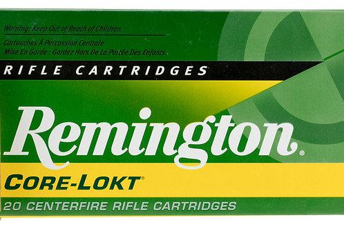 Remington Ammunition 243 Win 100 gr Core-Lokt Pointed Soft Point (PSPCL) 20/Box