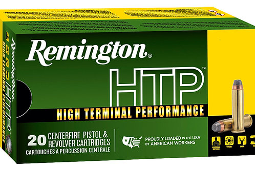 Remington .38 Special +P 110 GR Semi-Jacketed Hollow Point (SJHP) 20 Bx/ 25 Cs