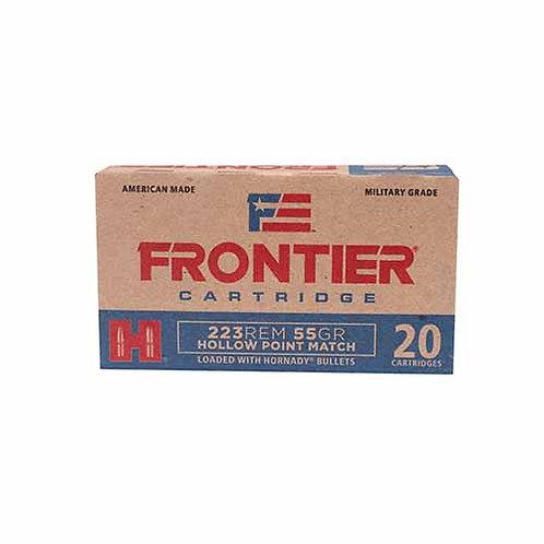 Frontier Cartridge FR140 Rifle 223 Rem 55 gr Hollow Point Match 20/Box