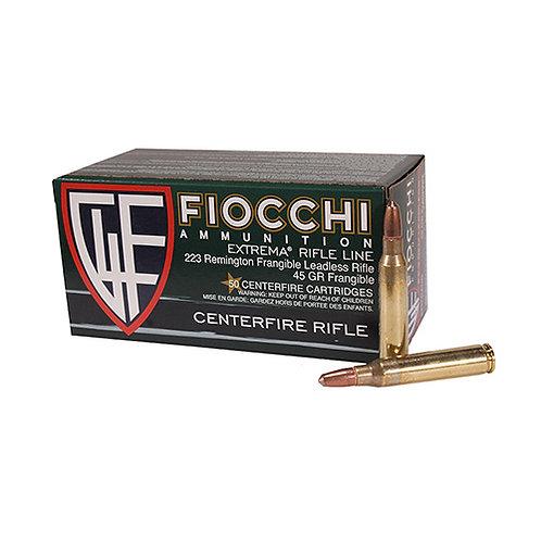 Fiocchi 223FRANG Extrema 223 Rem 45 gr Lead Free Frangible 50/Box