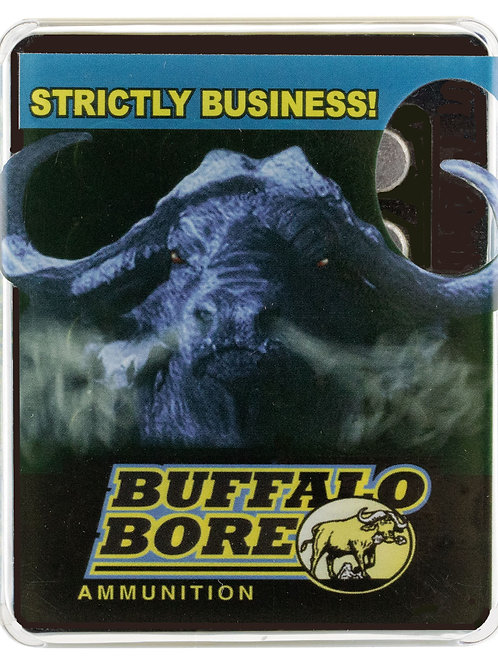 Buffalo Bore Ammunition Pistol 45 ACP +P 230 gr Jacketed Hollow Point 50/Box