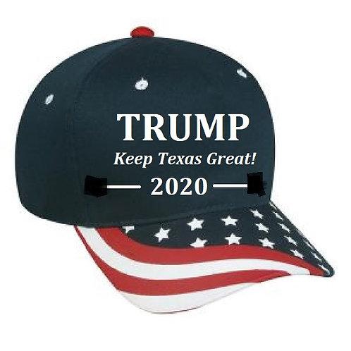 Trump - Keep Texas Great - 2020