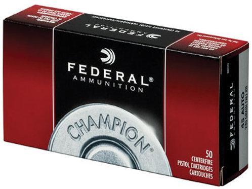 Federal WM5233 Champion 45 ACP 230 gr Full Metal Jacket (FMJ) 50/Box