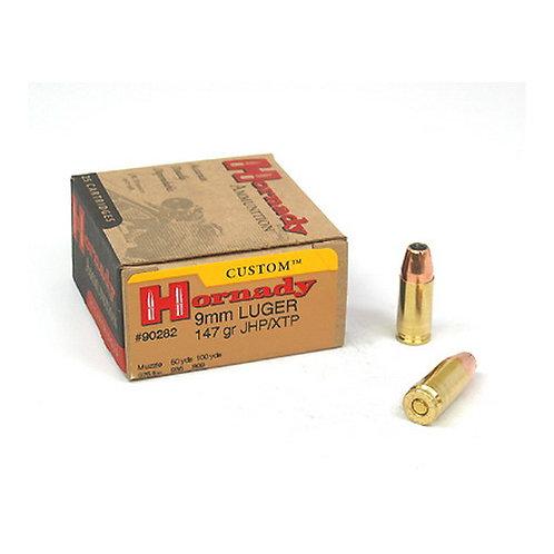 Hornady 90282 Custom 9mm Luger 147 gr XTP Hollow Point 25/Box