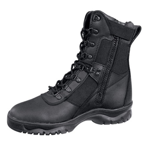 "8"" Forced Entry Tactical Boot With Side Zipper"