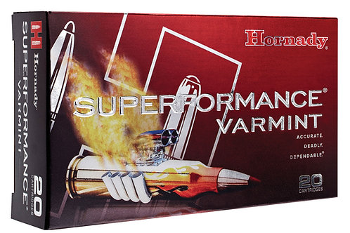 Hornady 83206 Superformance Varmint 204 Ruger 40 gr V-Max 20/Box