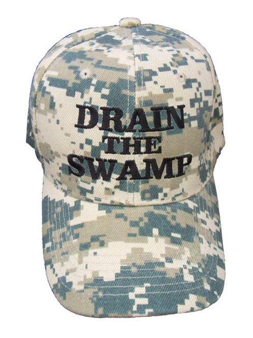 Drain the Swamp Cap - Digital Camo