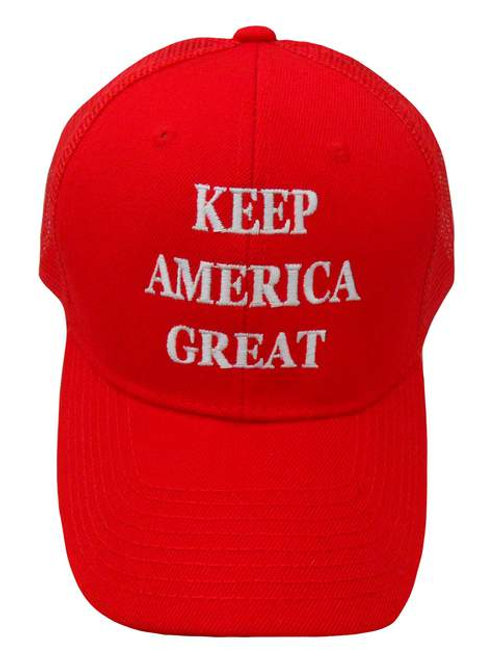 Keep America Great Mesh Cap - Red